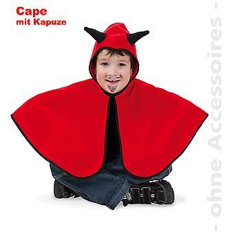 Duivel kostuum duivel Cape kinderen duivel kind kostuum