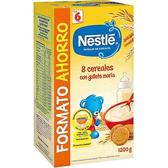 Nestlé Papilla 8 Cereals with Mary Cookie 1200 gr (Childhood , Healthy diet , Cereals)