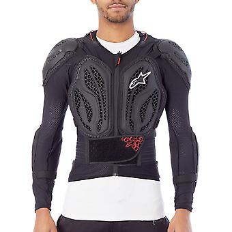 Alpinestars Black-Red 2018 Bionic Action MX Protection Jacket