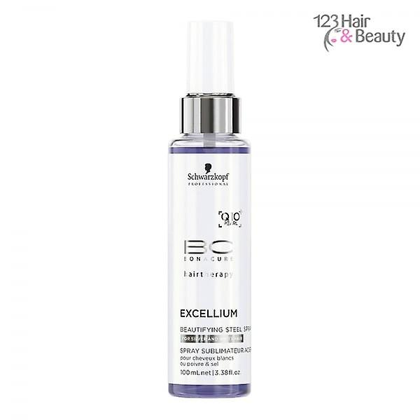 Spray Excellium Professional Schwarzkopf Bonacure Bc Beautifying Steel 100ml Replenishment 34RLq5Acj