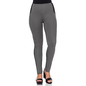 sheego Ladies Jersey pants of plus size short size grey Jeggings