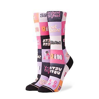 Attitude nouvelle argot Crew Socks - Multi