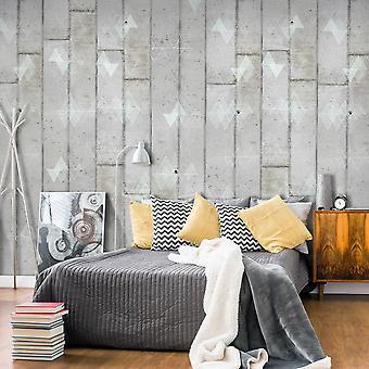 Wallpaper - Concrete and Triangles