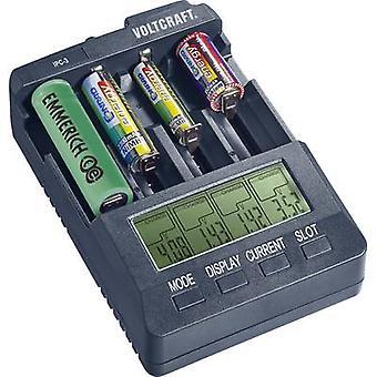 Cargador para baterías cilíndricas Li-ion, NiCd, NiMH VOLTCRAFT IPC-
