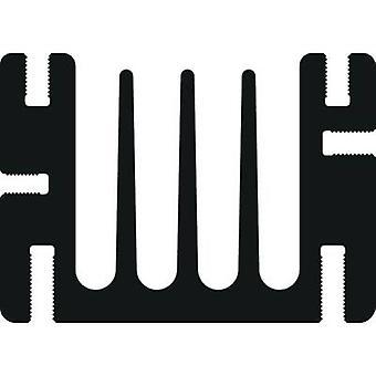 Heat sink 3.6 C/W (L x W x H) 75 x 46 x 33 mm SOT 32, TO 220 Fischer Elektronik SK 68 75 SA