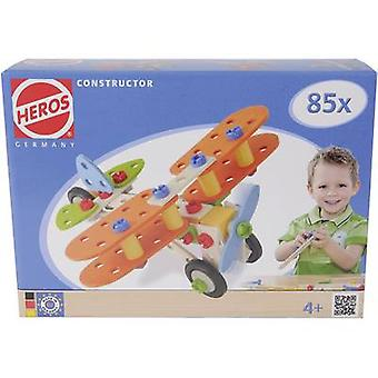 Kit Heros Constructor No. of parts: 85 No. of models: 4 Age category: 4 years and over
