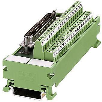Phoenix contacto 2962803 UM 45-D37SUB/S VARIOFACE-módulo para el conector D-SUB multi-pin - serie UM 45 D 0.14 - 1,5 mm²