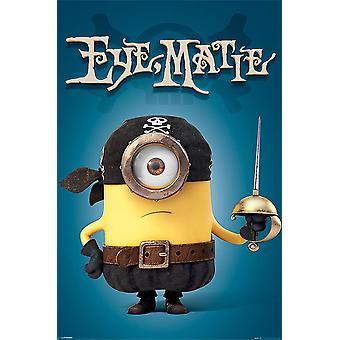 Minions Poster Eye Matie