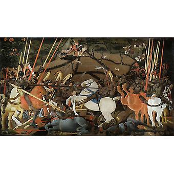 Battle of San Romano, Paolo UCCELLO 02