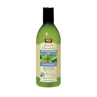 Avalon Organics - Peppermint Bath & Shower Gel 350ml