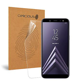 Celicious Impact Anti-Shock Shatterproof Screen Protector Film Compatible with Samsung Galaxy A6