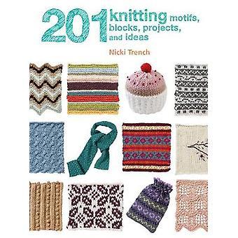 Motifs de tricot 201 - blocs - projets - et les idées par Nicki tranchée-