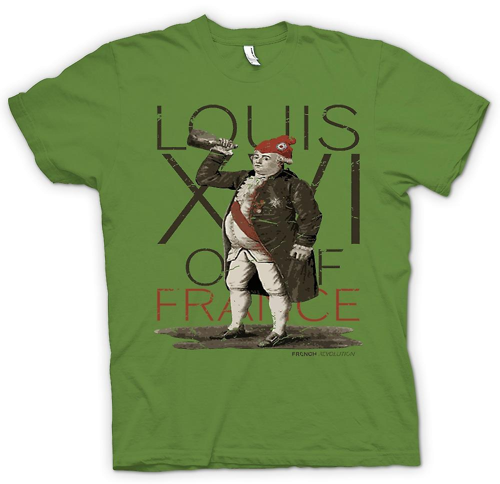 Mens T-shirt - Louis XVI Of France - French revolution Inspired