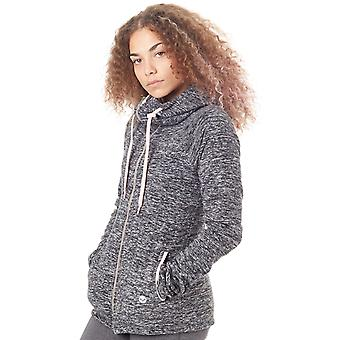 Roxy Charcoal Heather Electric Feeling Womens Zip Hoody
