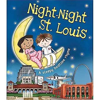 Natt-natt St. Louis (A sömnig läggdags RIM) [styrelse bok]