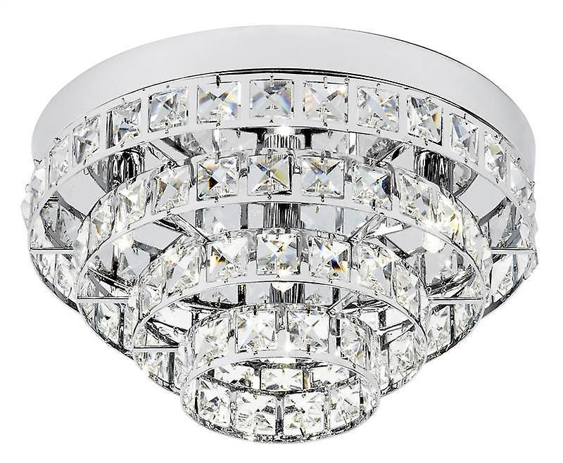 Motown Indoor Flush Ceiling Light - Endon MOTOWN-4CH