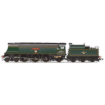 Hornby R3638 BR West Country 4-6-2 34019 Bideford