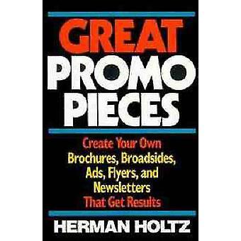 Große Promo Stücke von Holtz