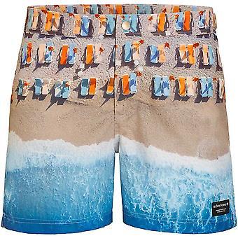 Bjorn Borg Stunning Sunbeds & Surf Print Swim Shorts, Multi