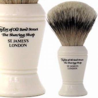 Taylor of Old Bond Street Silvertip Badger Shaving Brush (Large)
