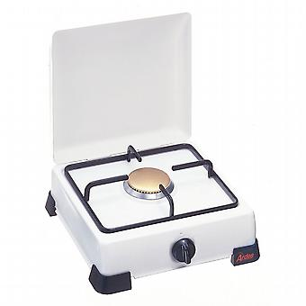 Stove enamelled steel Grill methane gas.
