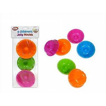 Moro å Cook - barna Jelly mugg seks Pack
