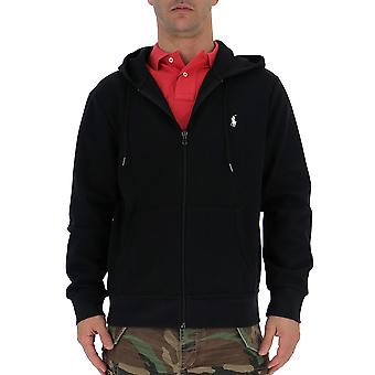 Ralph Lauren Black Cotton Sweatshirt