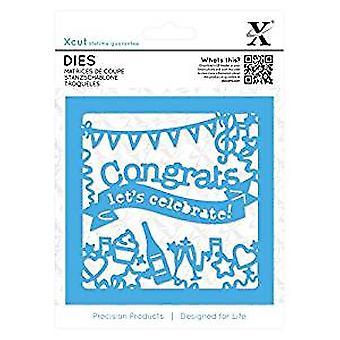 Xcut Dies (1pc) - Congratulations Topper (XCU 503296)