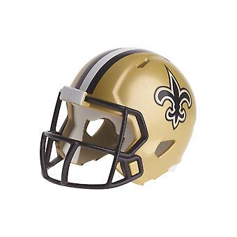 Riddell Speed Pocket Football Helm - NFL New Orleans Saints