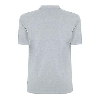 Light Grey Marl Plain Polo Shirt