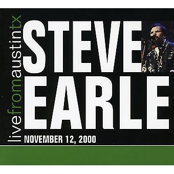 Steve Earle - Live From Austin Tx [CD] USA import
