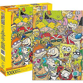 Nickelodeon Cast 1000 Piece Jigsaw Puzzle 510mm x 710mm (nm)