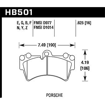 Hawk Performance HB501B.625 HPS 5.0