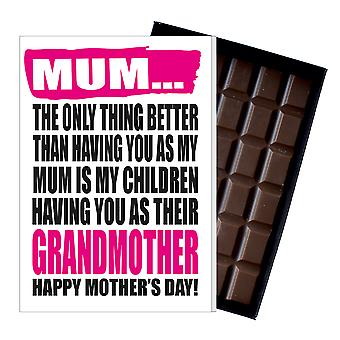 Funny Mother's Day Gift Naughty Chocolate Present for Gran Granny Grandma Grandmother MIYF143
