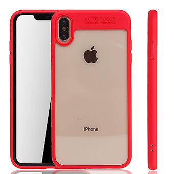 Ultra Slim Case pour Apple iPhone XS Max Phone Case Cover Rouge