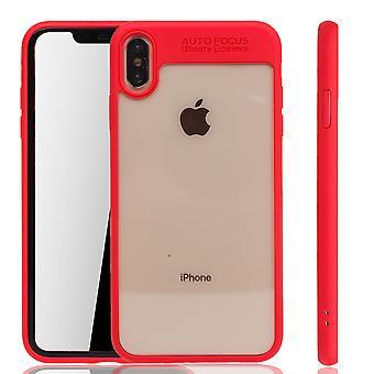 Ultra Slim Case für Apple iPhone XS Max Handyhülle Schutz Cover Rot