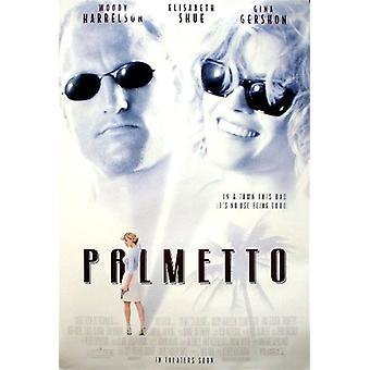 Palmetto (yksipuolinen tavallinen) alkuperäinen elokuva julisteet