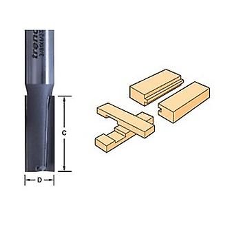 Trend 3/8 X 1/4 Tungsten Carbide Two Flute Cutter