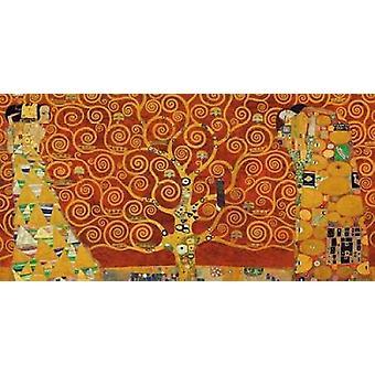 Livets-rød Poster trykk av Gustav Klimt
