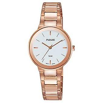 Placcato in oro rosa di Pulsar Ladies Watch PH8290X1