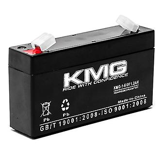 KMG 6V 1.2Ah Replacement Battery for FEDERAL SIGNAL INFORMER