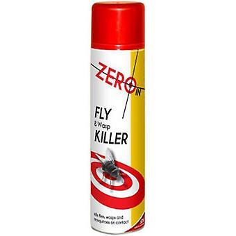 Nul i flyve & hveps Killer Aerosol 300ml (pakke med 6)