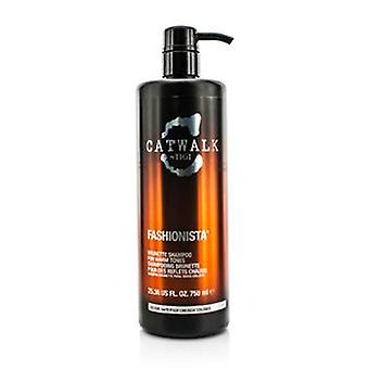 Catwalk Fashionista Brunette Shampoo (For Warm Tones) - 750ml/25.36oz