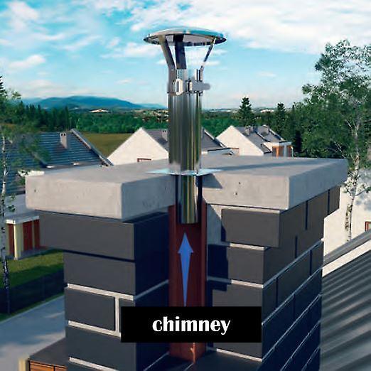 Chimney Rain Cover ~ Stainless steel chimney flue cowl pipe rain cover