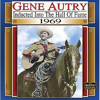 Gene Autry - 1969-Country Music Hall of importazione USA Fam [CD]