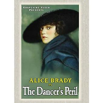 Dansarens fara (1917) [DVD] USA import