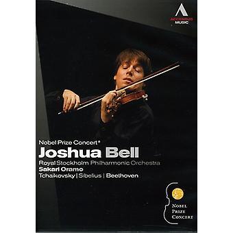 Nobelprisen koncert: Joshua Bell [DVD] USA importerer