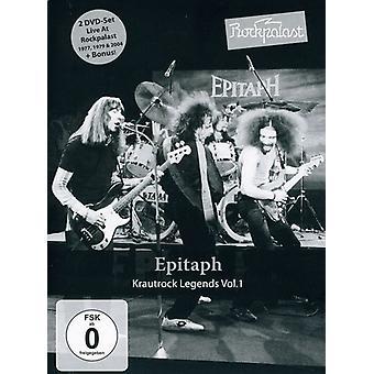 Epitaph - Epitaph: Vol. 1-Rockpalast: Krautrock Legends [DVD] USA import
