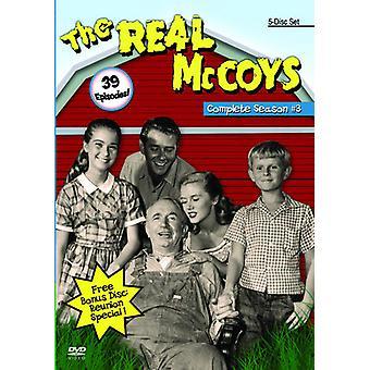 Rigtige McCoys: Sæson 3 [DVD] USA import