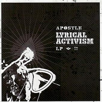 Apostel - lyriske aktivisme [CD] USA importerer